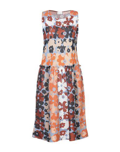 Фото - Платье до колена от VIKI-AND лазурного цвета