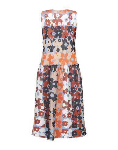 Фото 2 - Платье до колена от VIKI-AND лазурного цвета