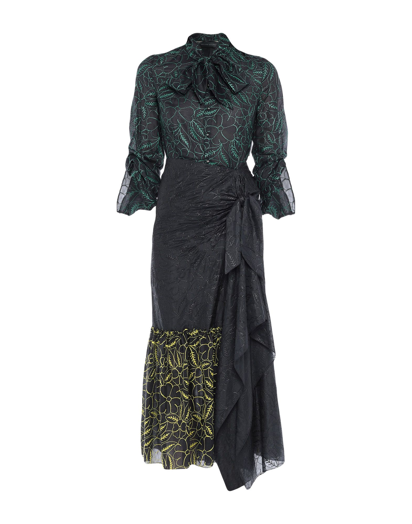 ROLAND MOURET Длинное платье roland mouret шелковое платье