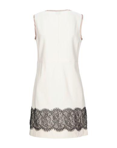 Фото 2 - Женское короткое платье LFDL бежевого цвета