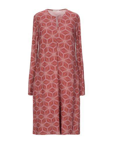 Фото - Платье до колена от SIYU пастельно-розового цвета