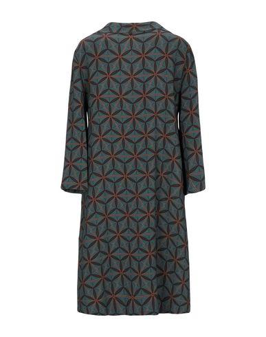 Фото 2 - Женское короткое платье SIYU цвет цвет морской волны