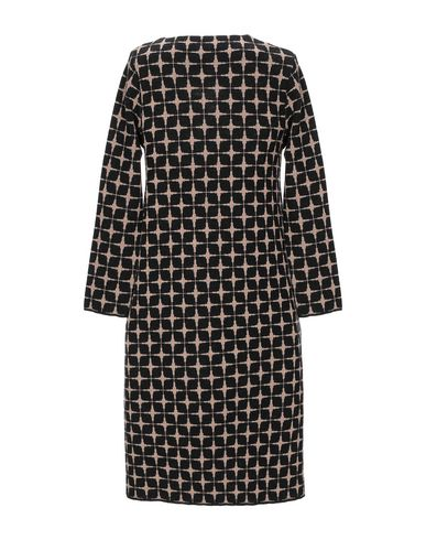 Фото 2 - Женское короткое платье SIYU черного цвета