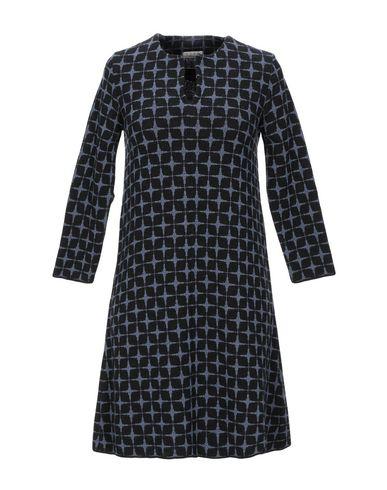Фото - Женское короткое платье SIYU грифельно-синего цвета