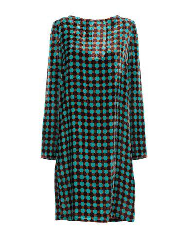 Фото - Женское короткое платье SIYU бирюзового цвета