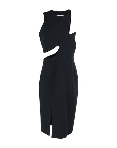 Фото - Платье до колена от LAMANIA черного цвета