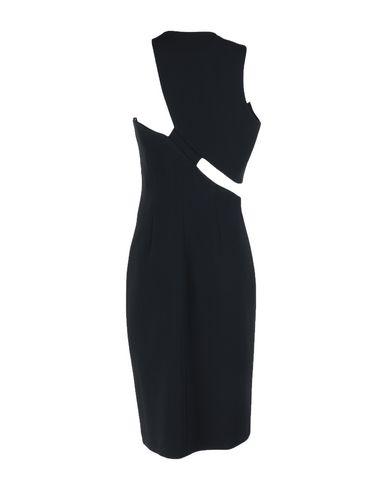 Фото 2 - Платье до колена от LAMANIA черного цвета