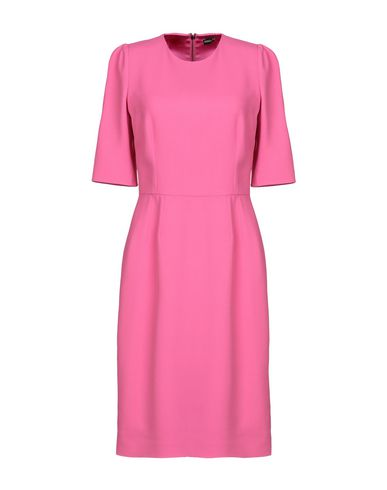 Купить Платье до колена цвета фуксия
