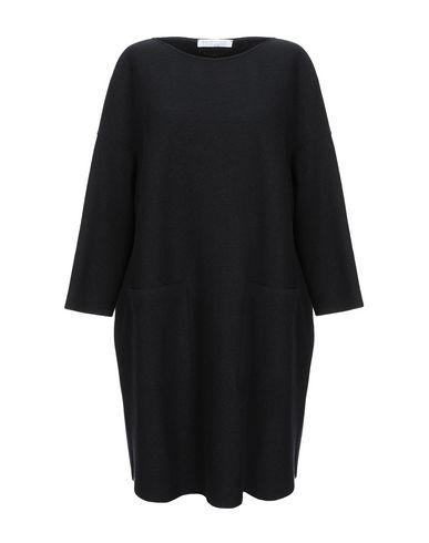 Фото - Женское короткое платье HARRIS WHARF LONDON черного цвета