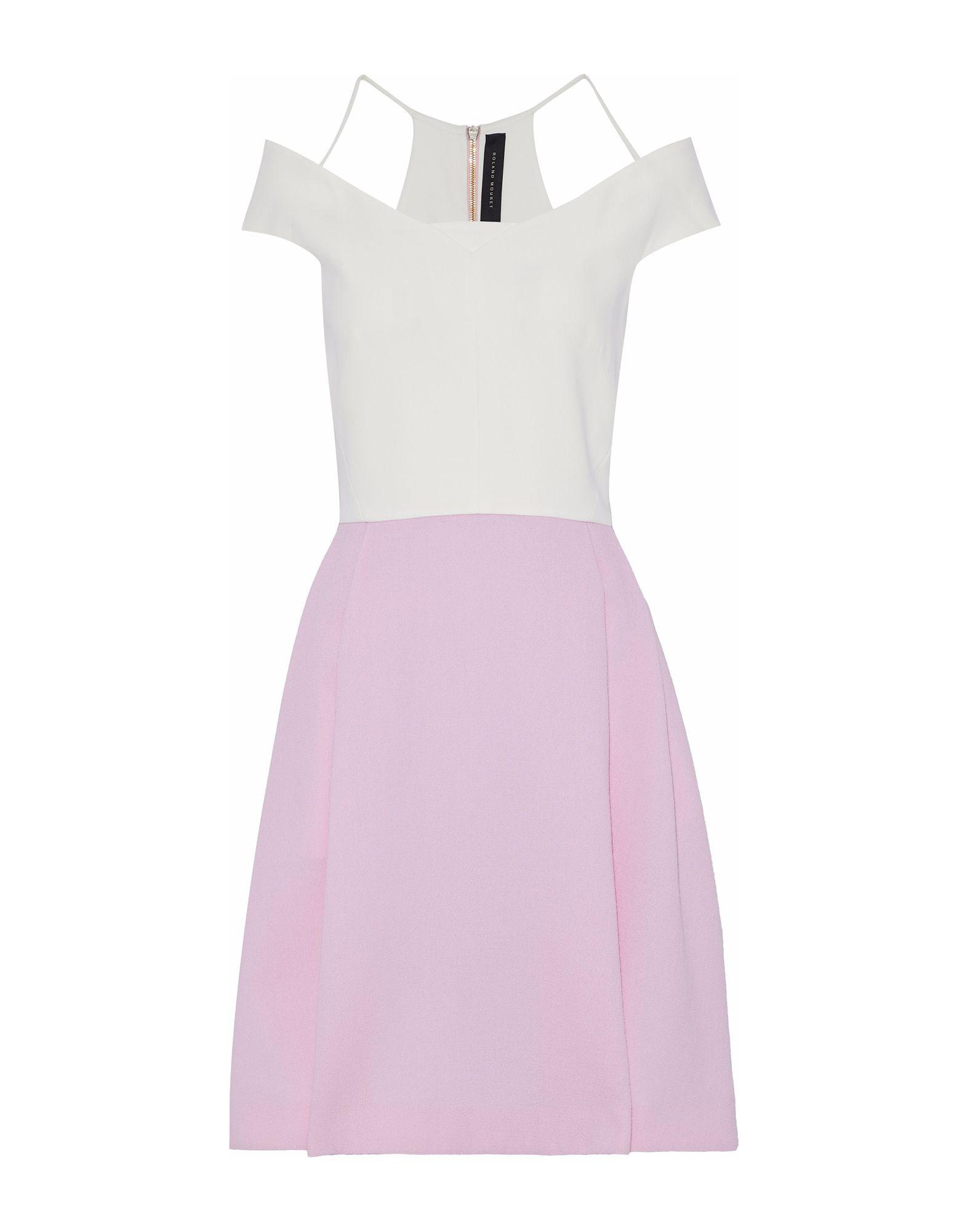 ROLAND MOURET Платье до колена roland mouret шелковое платье