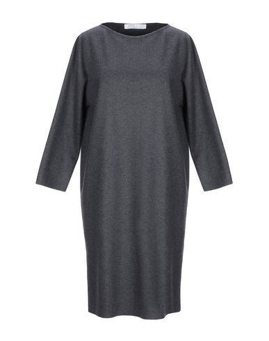 Фото - Женское короткое платье HARRIS WHARF LONDON цвет стальной серый