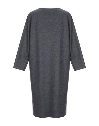 Фото 2 - Женское короткое платье HARRIS WHARF LONDON цвет стальной серый