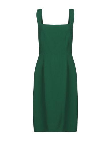 Купить Платье до колена изумрудно-зеленого цвета