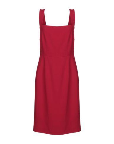 Купить Платье до колена красного цвета