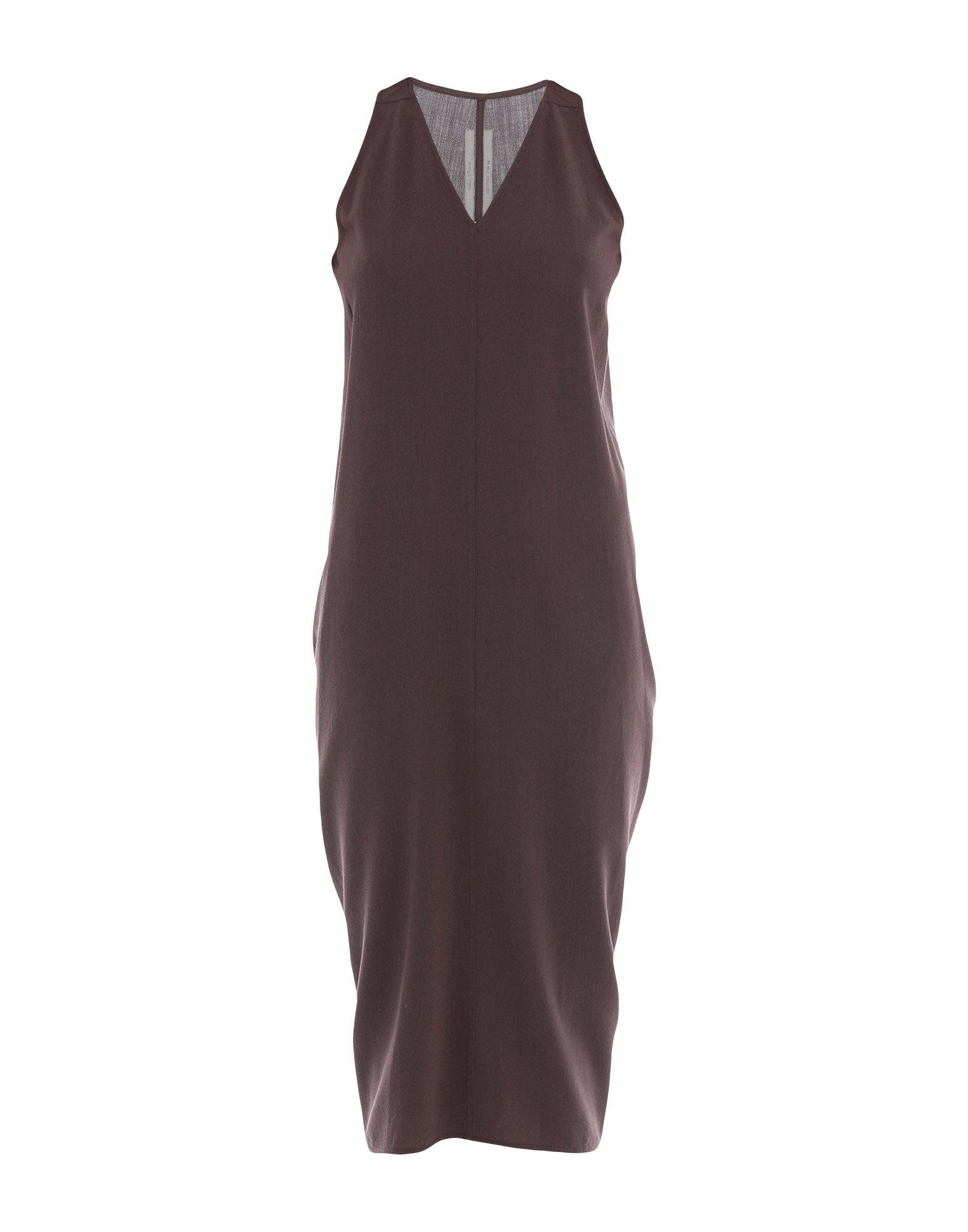 RICK OWENS Платье длиной 3/4 rick owens ботинки mastodon page 4