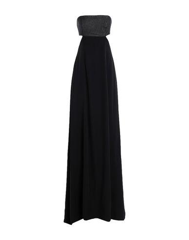 Фото - Женское длинное платье KARL LAGERFELD x KAIA черного цвета