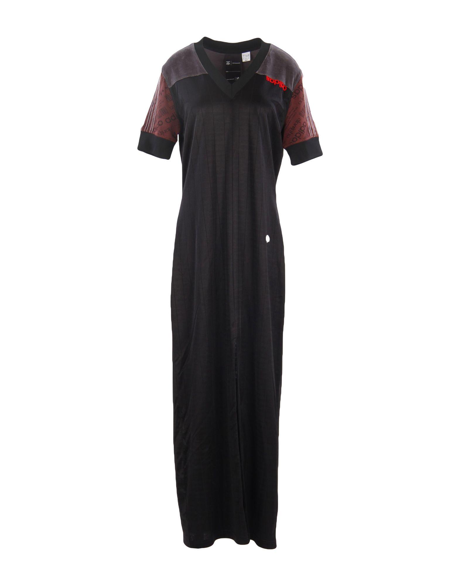 ADIDAS ORIGINALS by ALEXANDER WANG Длинное платье t by alexander wang джинсовая рубашка