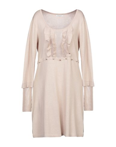 Фото - Женское короткое платье LUCKYLU  Milano бежевого цвета