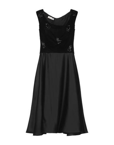 Фото - Платье до колена от BOTONDI COUTURE черного цвета