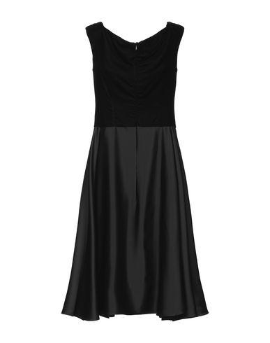 Фото 2 - Платье до колена от BOTONDI COUTURE черного цвета