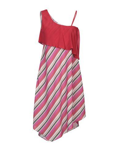 Фото - Платье до колена от OPI MO OPIFICIO MODENESE красного цвета