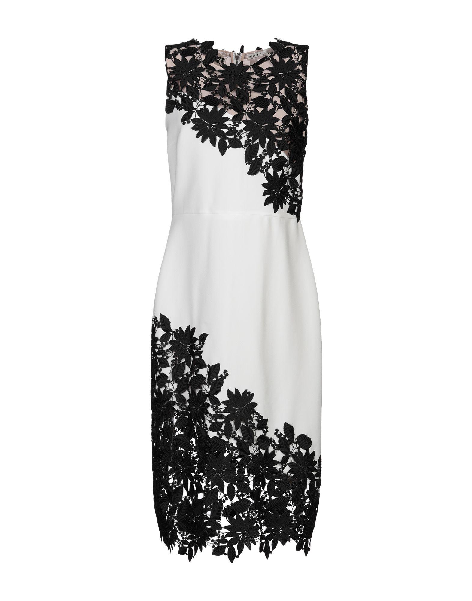 купить ALICE + OLIVIA Платье до колена по цене 15100 рублей