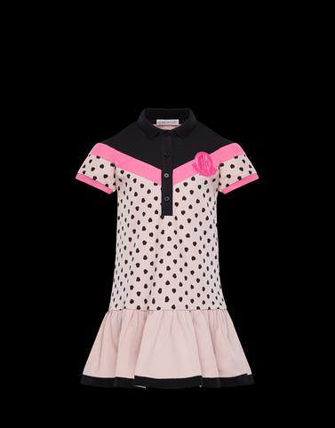 DRESS Powder Rose Kids 4-6 Years - Girl Woman