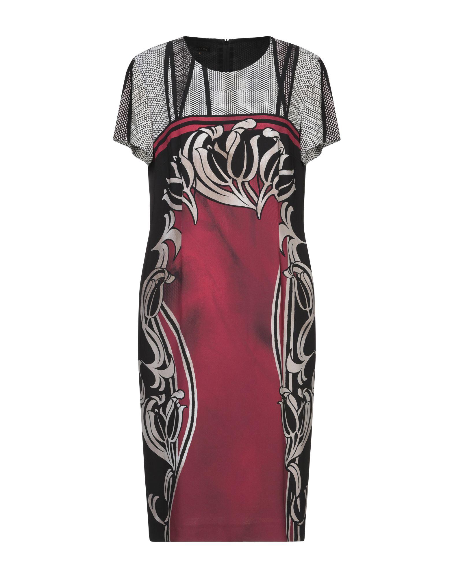 ESCADA Платье до колена платье escada sport платья и сарафаны мини короткие