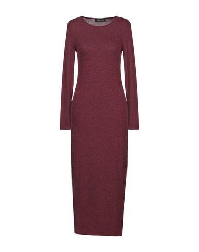 Фото - Женское длинное платье DODICI22 красно-коричневого цвета