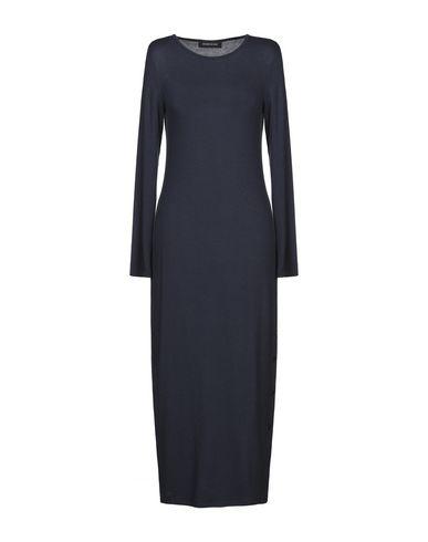 Фото - Женское длинное платье DODICI22 темно-синего цвета