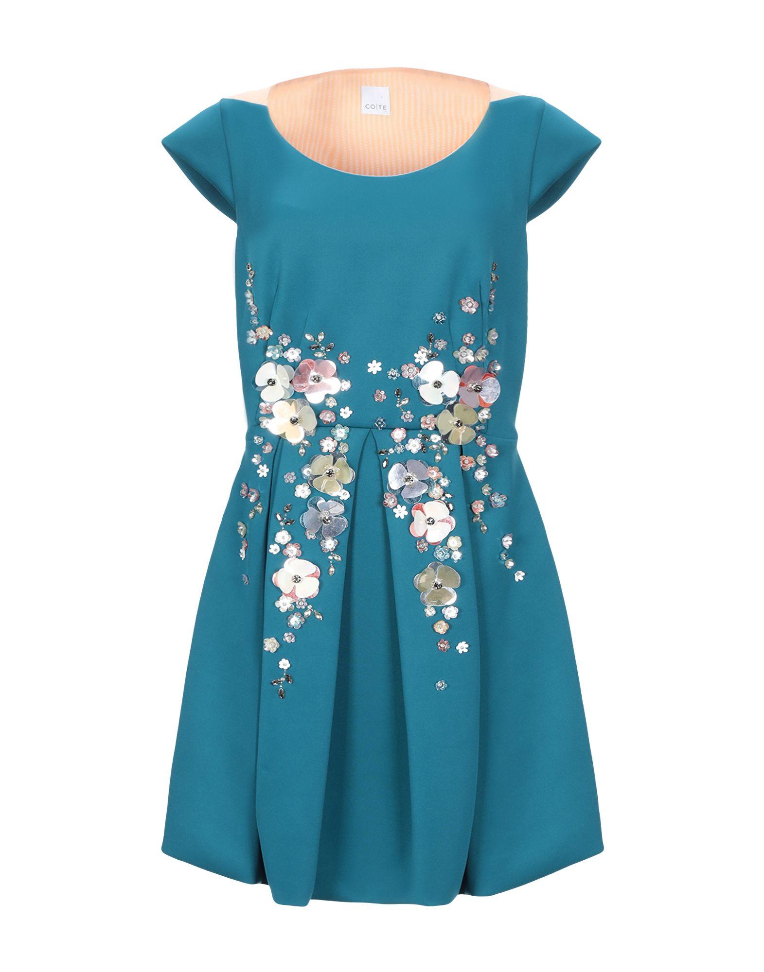 CO|TE Короткое платье co te блузка