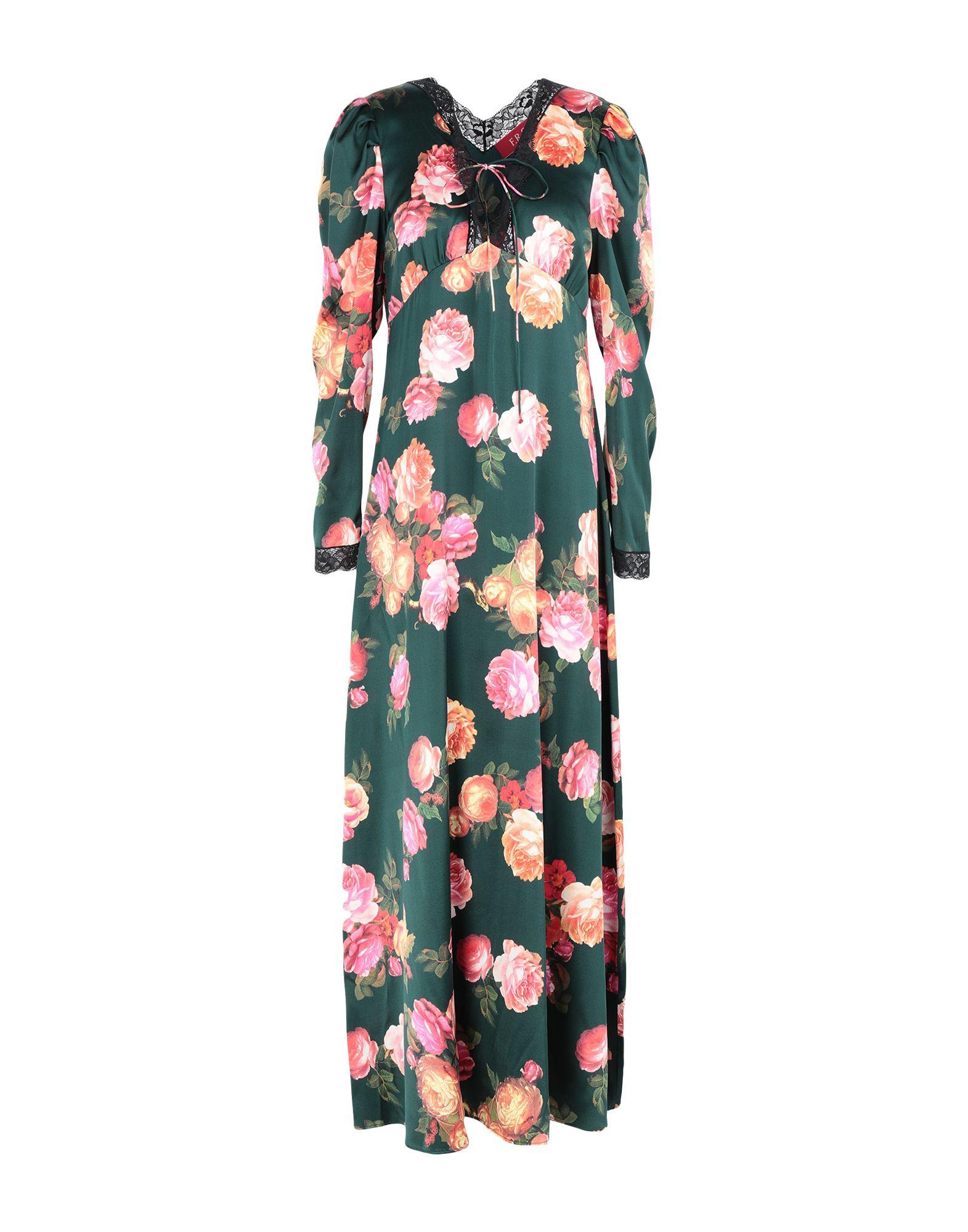 купить F.R.S. FOR RESTLESS SLEEPERS Длинное платье по цене 41500 рублей