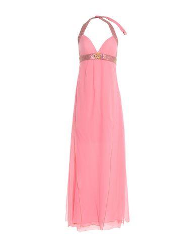 Купить Женское длинное платье VDP BEACH кораллового цвета