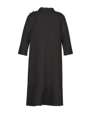 Фото 2 - Платье до колена от ANISYA® IS черного цвета