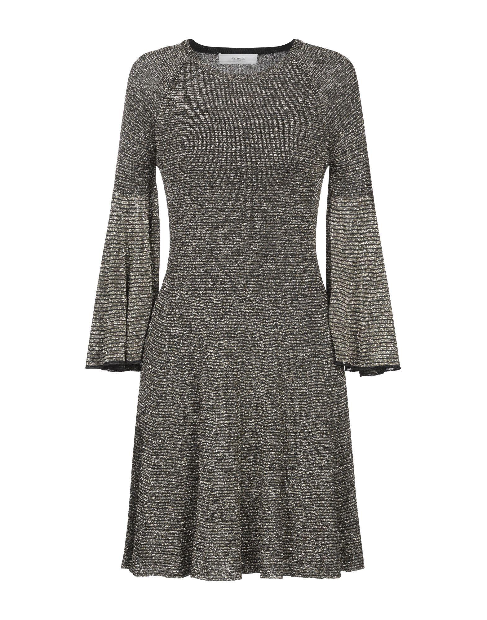 цена PRINGLE OF SCOTLAND Короткое платье онлайн в 2017 году