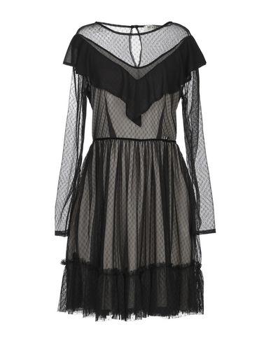 Фото - Женское короткое платье ANISYA® IS черного цвета