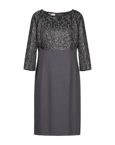Фото - Платье до колена от BOTONDI COUTURE цвет стальной серый