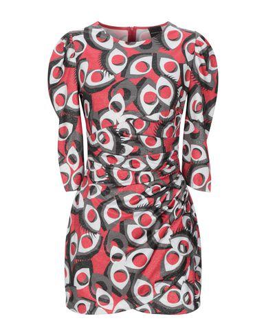 Фото - Женское короткое платье MARC ELLIS красного цвета