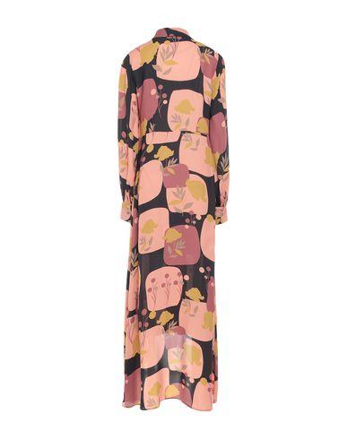 Фото 2 - Платье длиной 3/4 цвет абрикосовый