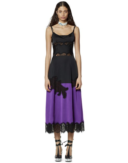 TWO-TONED CUT-OUT DRESS - Lanvin