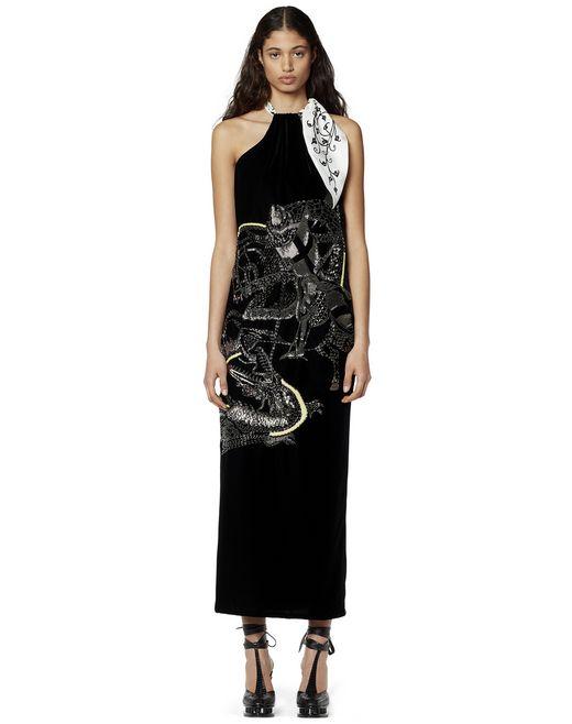 刺繍入り ロングドレス - Lanvin