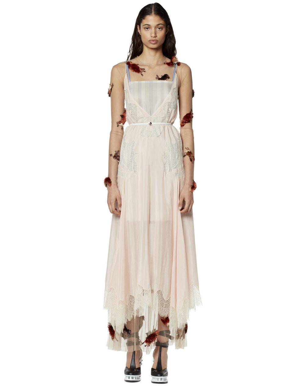 LONG DRESS IN COTTON AND SILK - Lanvin