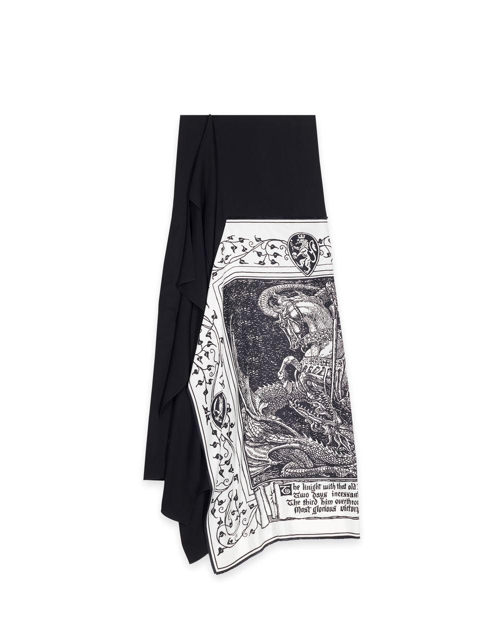 BUSTIER SCARF DRESS  - Lanvin