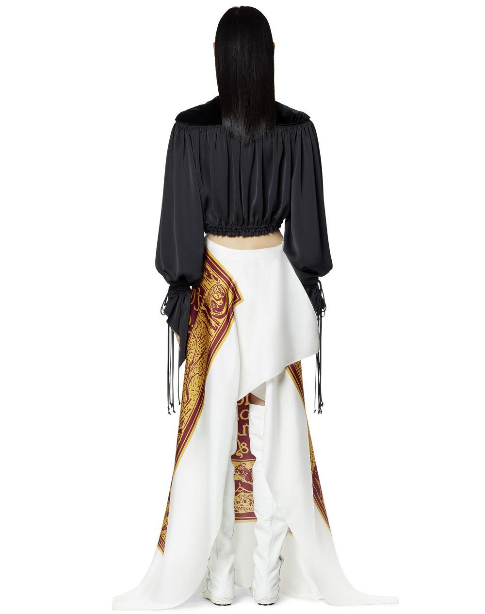 LONG SILK DRESS   - Lanvin