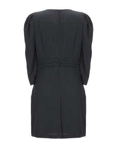 Фото 2 - Женское короткое платье MARC ELLIS черного цвета