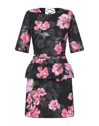 Фото - Женское короткое платье NEVA черного цвета
