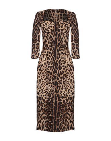 Купить Платье длиной 3/4 цвета хаки