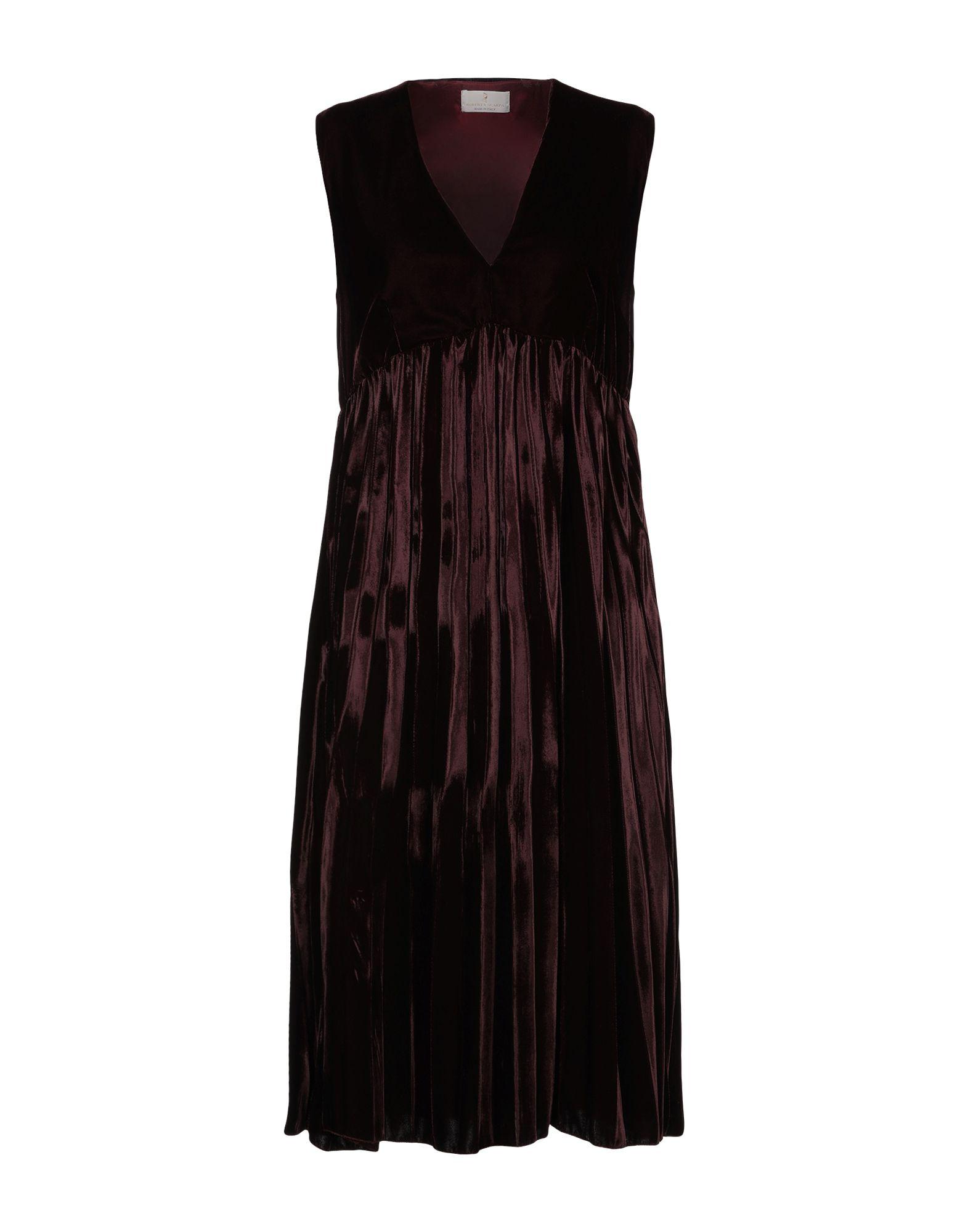 ROBERTA SCARPA Платье длиной 3/4 недорго, оригинальная цена