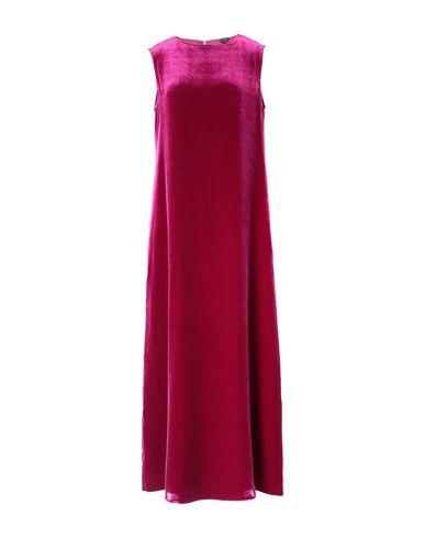 Фото - Женское длинное платье ASPESI цвет пурпурный