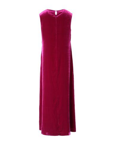 Фото 2 - Женское длинное платье ASPESI цвет пурпурный